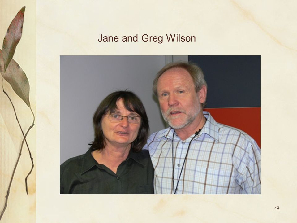 33 Jane and Greg Wilson