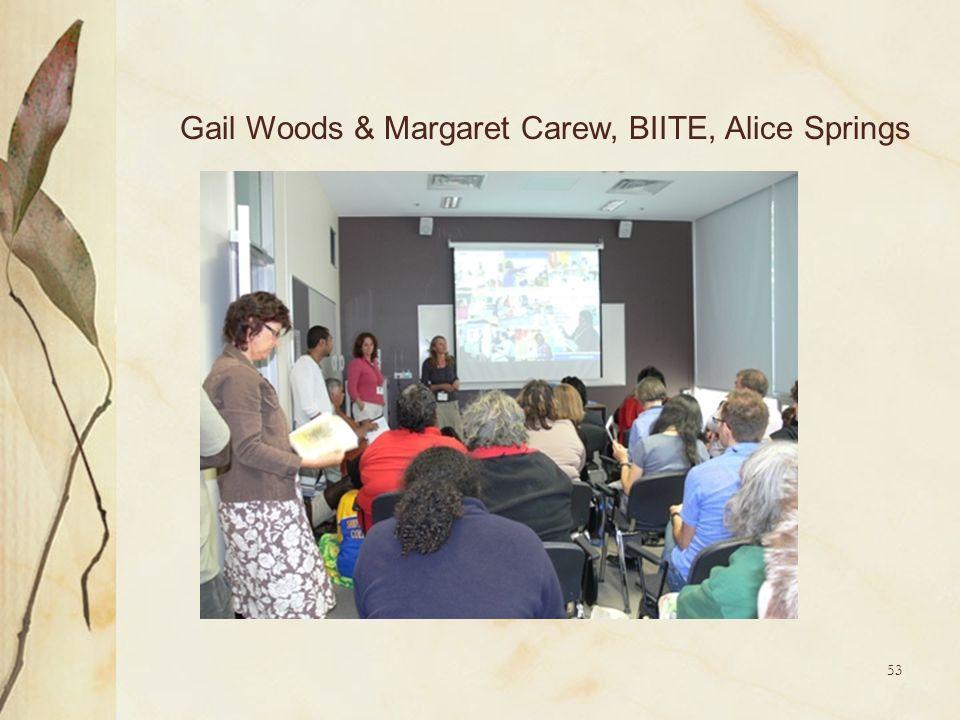 53 Gail Woods & Margaret Carew, BIITE, Alice Springs