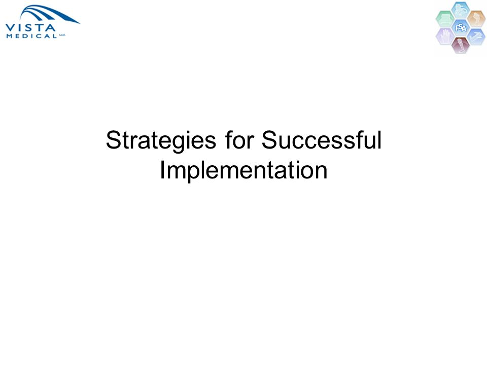 Strategies for Successful Implementation