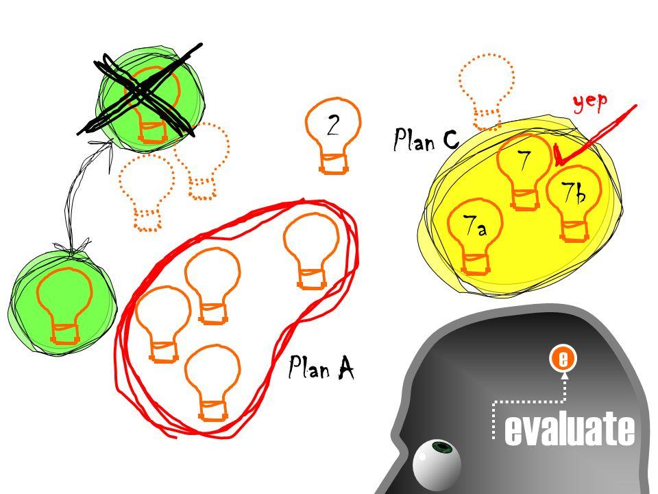 e evaluate 7a 7 7b Plan C 2 yep Plan A