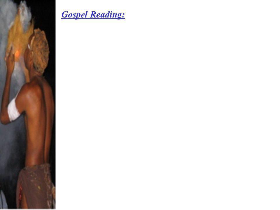 Gospel Reading:
