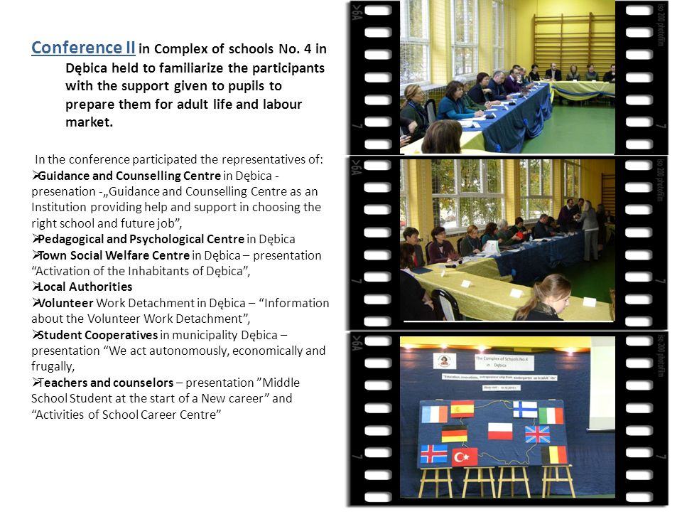 Conference II in Complex of schools No.
