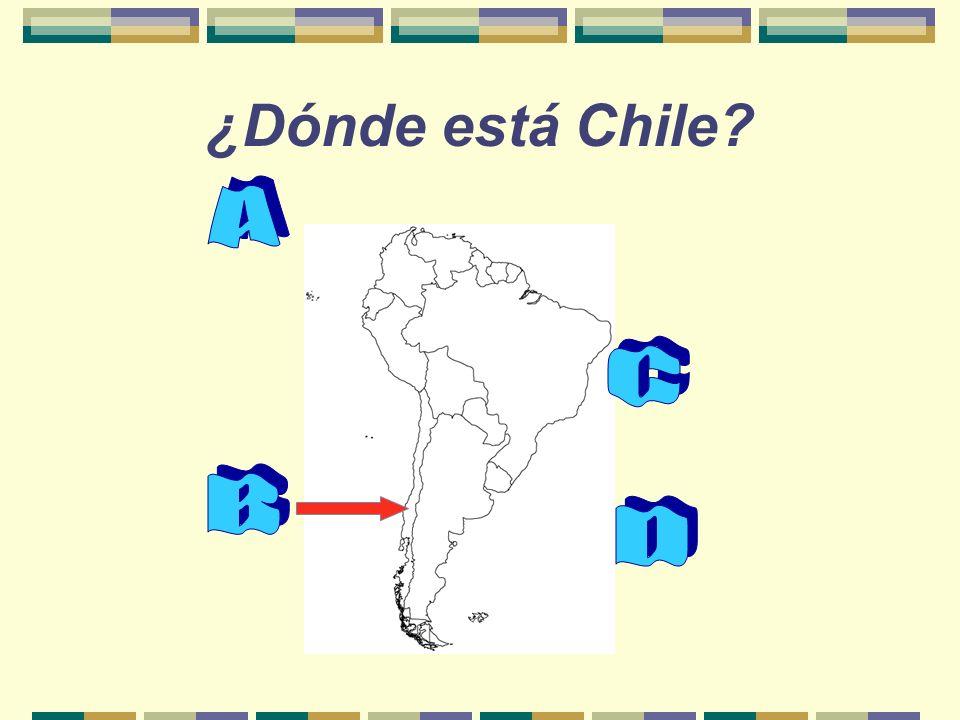 ¿Dónde está Chile
