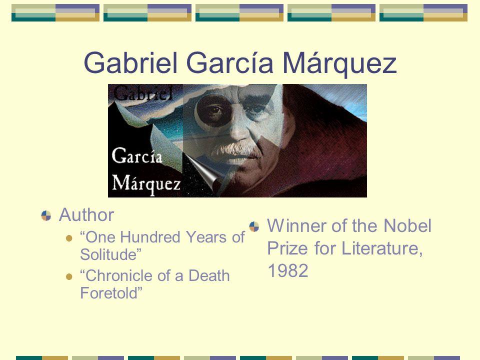 Who is Gabriel García Márquez?