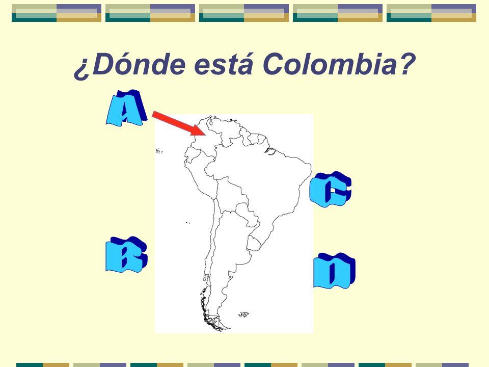 ¿Dónde está Colombia?