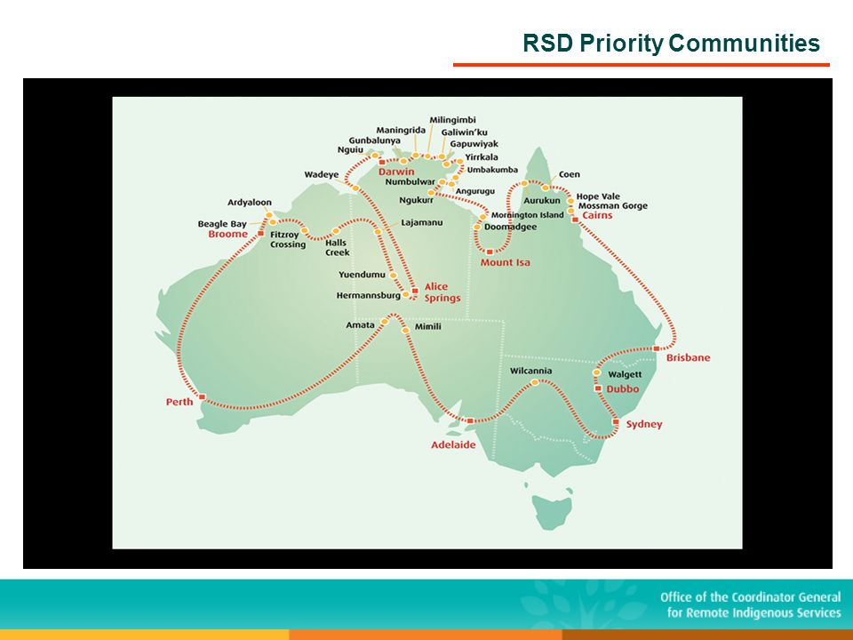 RSD Priority Communities