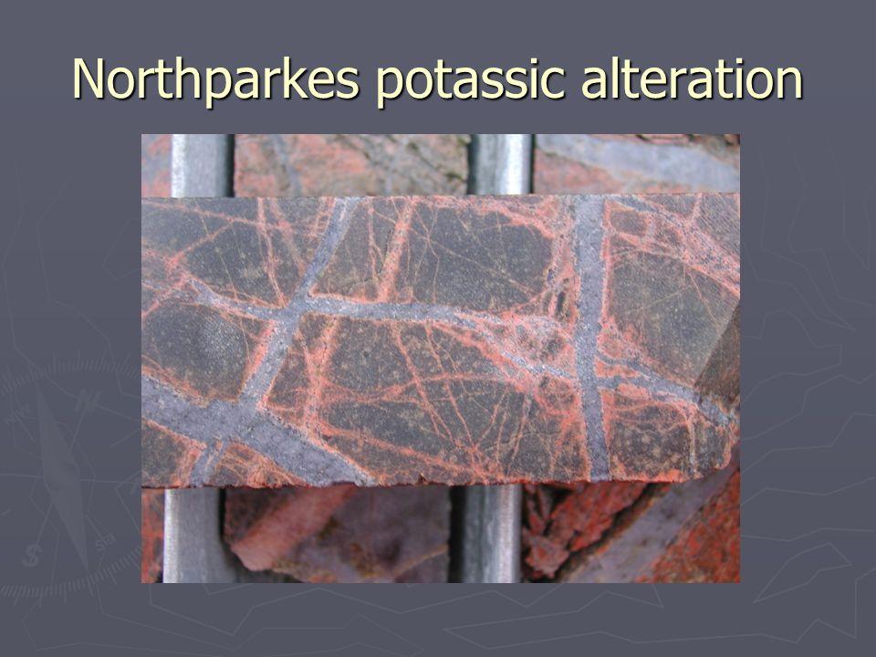 Northparkes potassic alteration