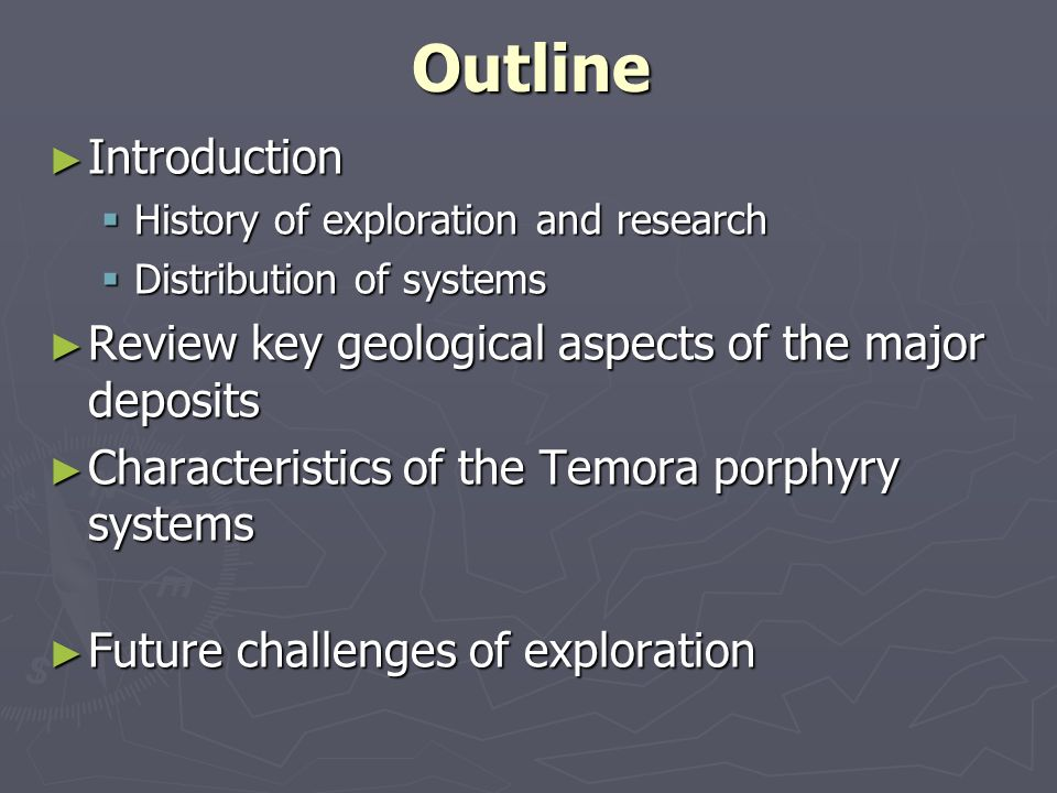 Outline Introduction Introduction History of exploration and research History of exploration and research Distribution of systems Distribution of syst