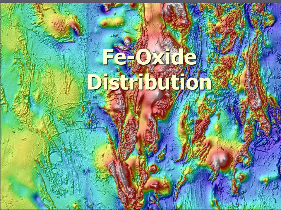 Fe-Oxide Distribution