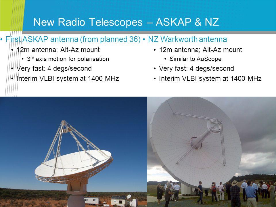 Latest image for LBA + NZ + 1 st ASKAP antenna Centaurus A