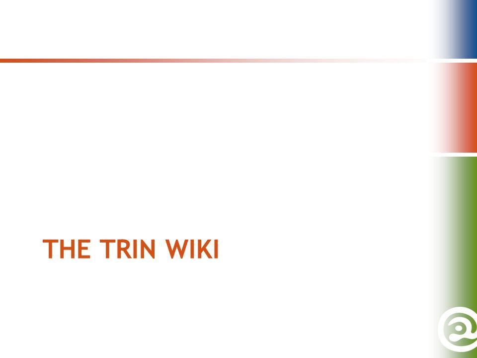 THE TRIN WIKI