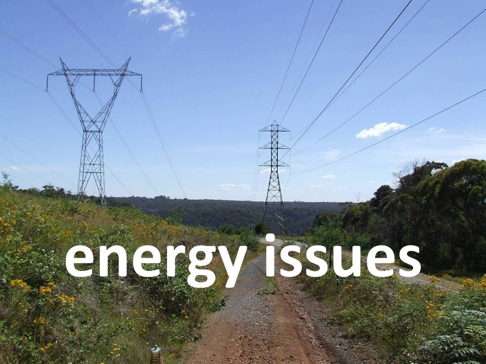 8. Standby energy and lights