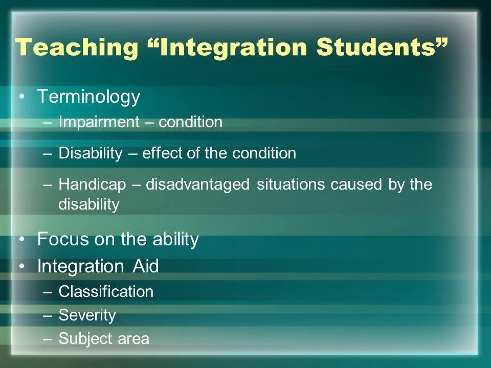 Integration Students – Aid.