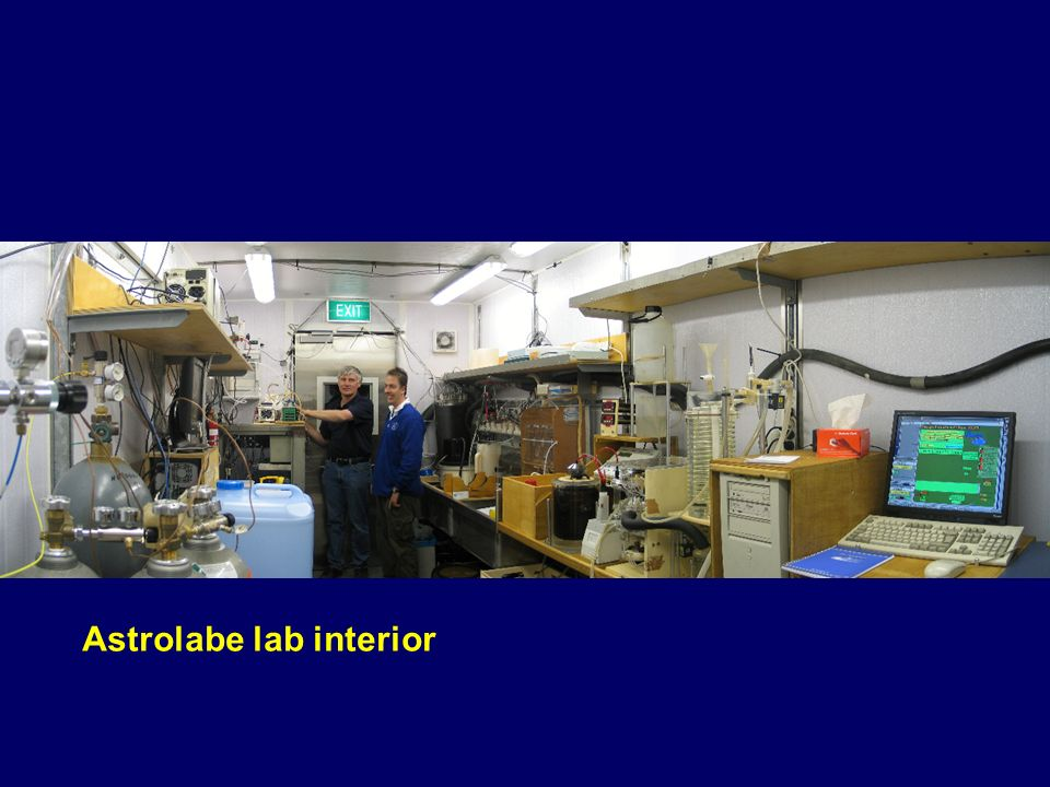 Astrolabe lab interior