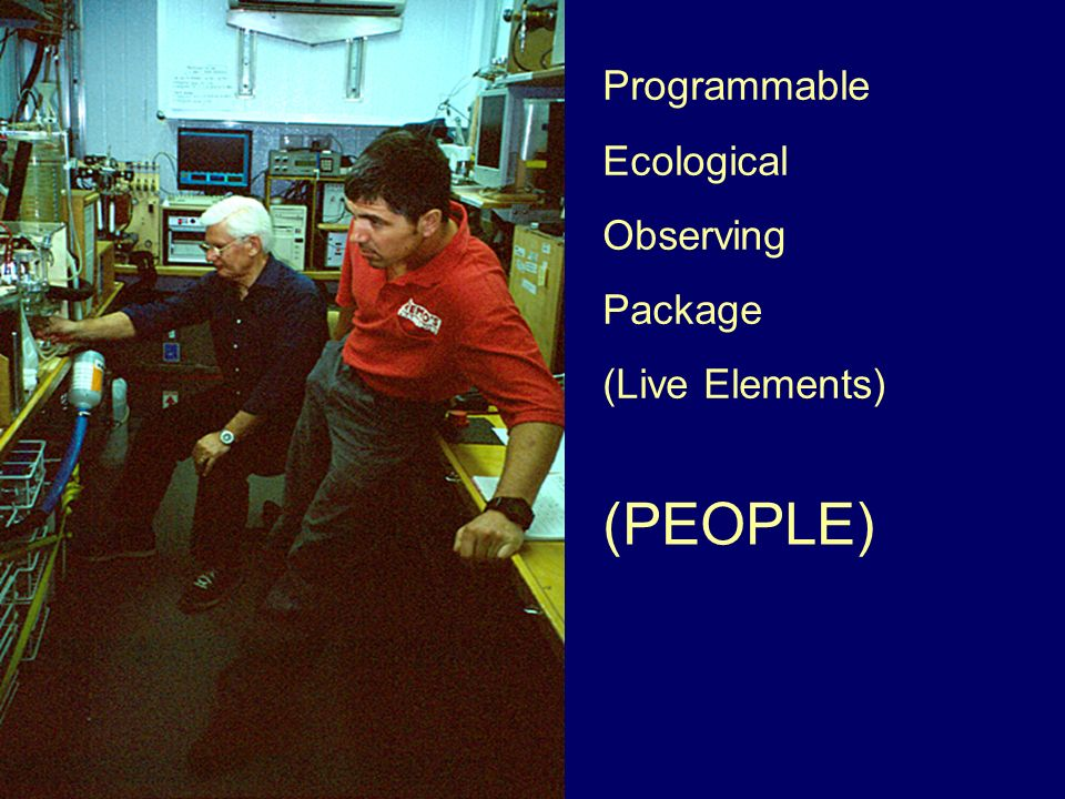 Programmable Ecological Observing Package (Live Elements) (PEOPLE)