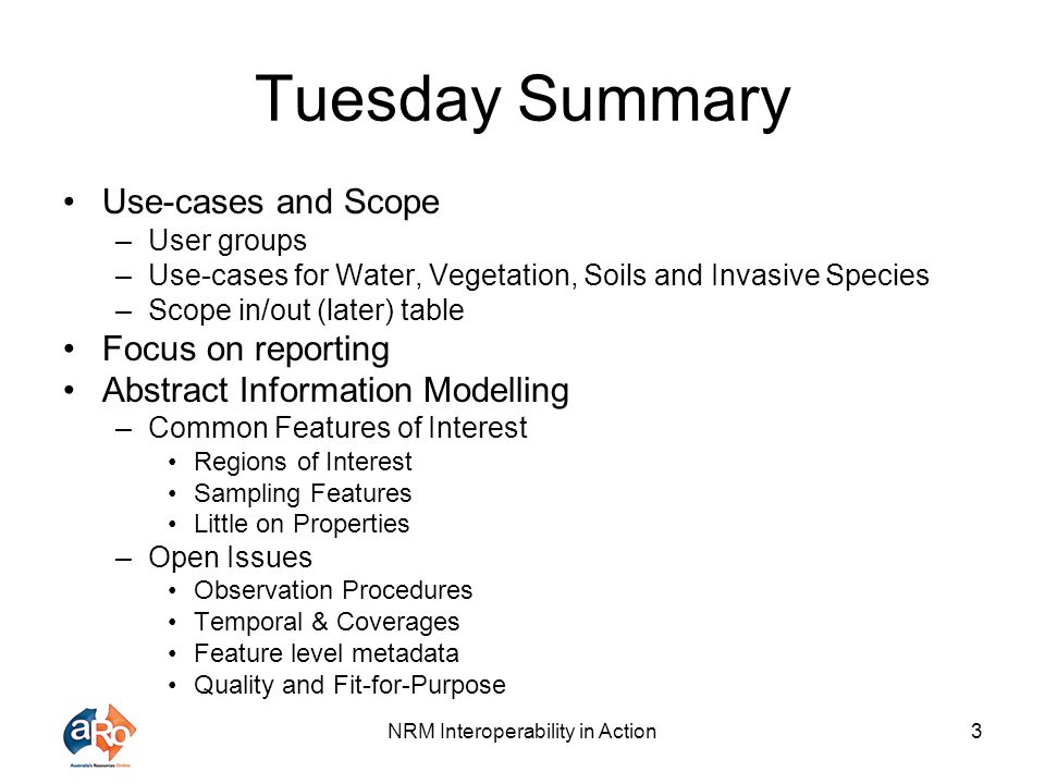 NRM Interoperability in Action4 Plenary – Schema Development UML Crash Course (Simon Cox)