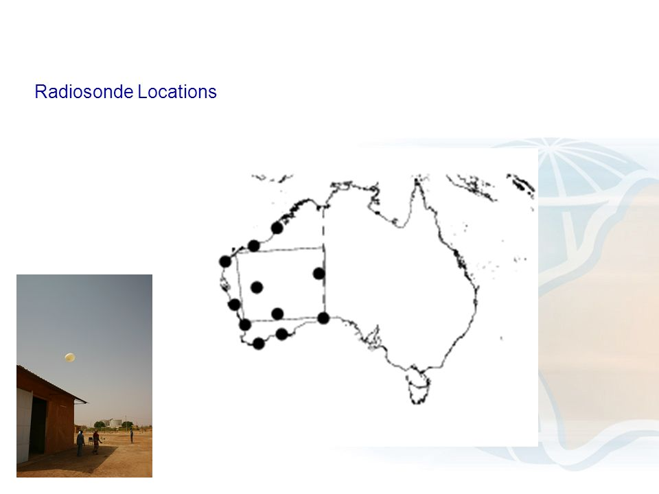 Radiosonde Locations