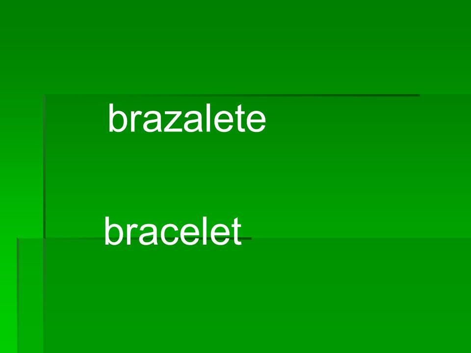 brazalete bracelet