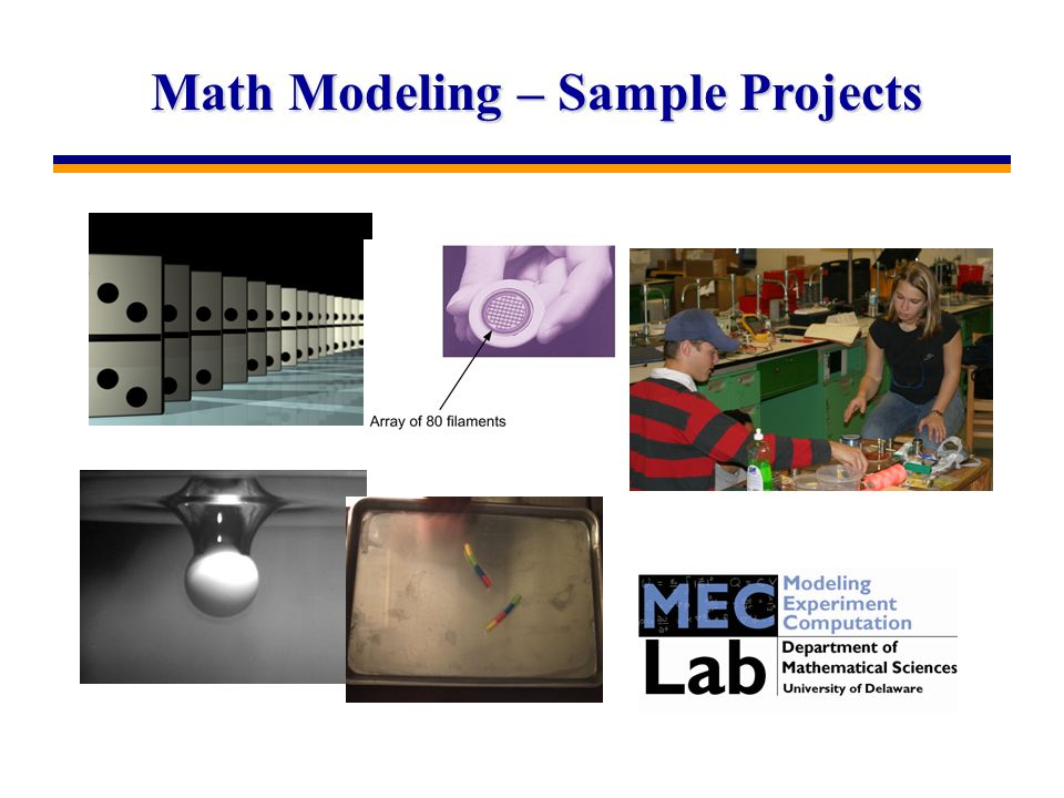 Math Modeling – Sample Projects