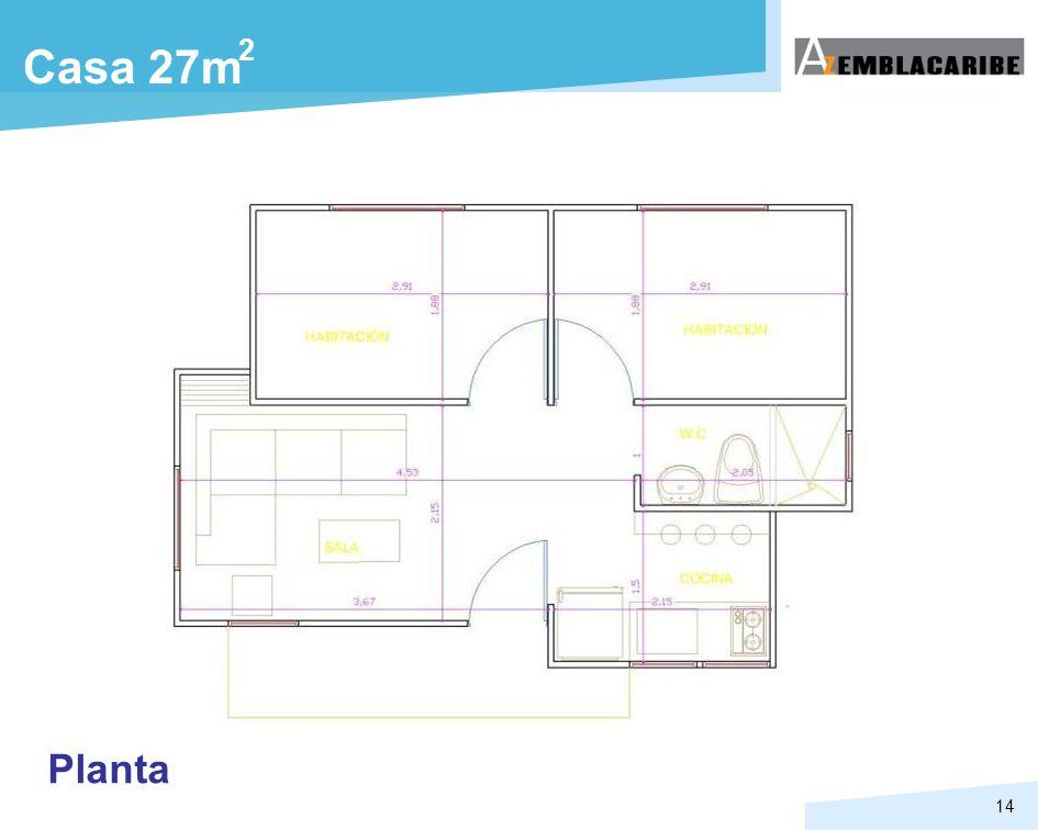 14 Casa 27m 2 Planta
