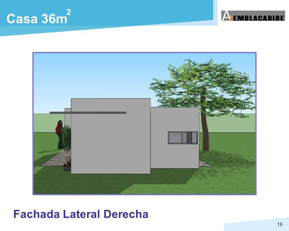 18 Casa 36m 2 Fachada Lateral Derecha