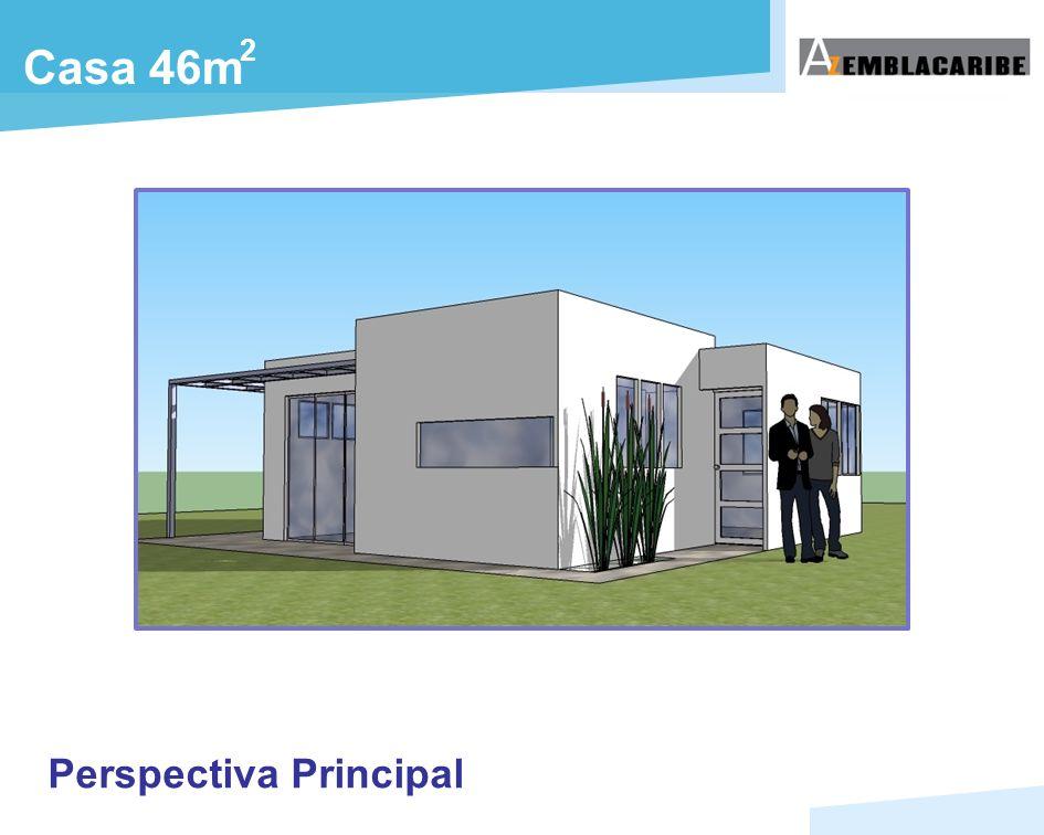 Casa 46m 2 Perspectiva Principal