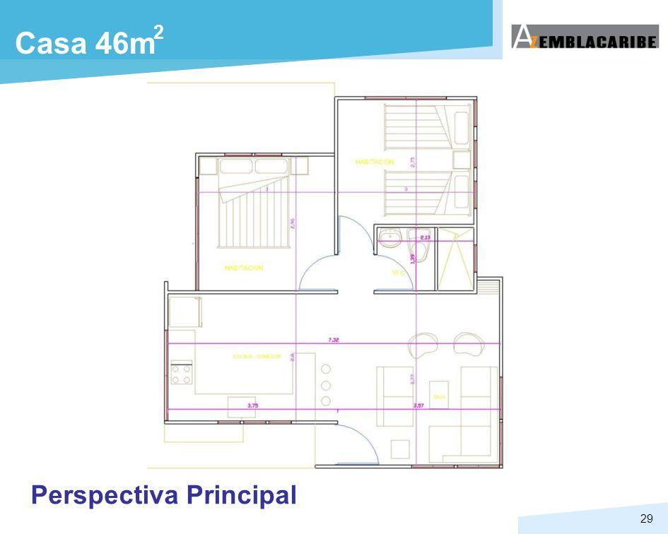29 Casa 46m 2 Perspectiva Principal