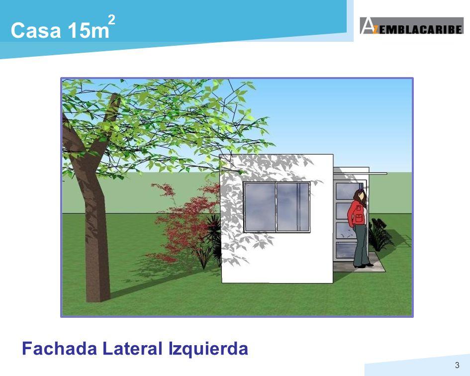 3 Casa 15m 2 Fachada Lateral Izquierda
