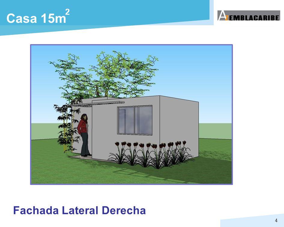 4 Casa 15m 2 Fachada Lateral Derecha