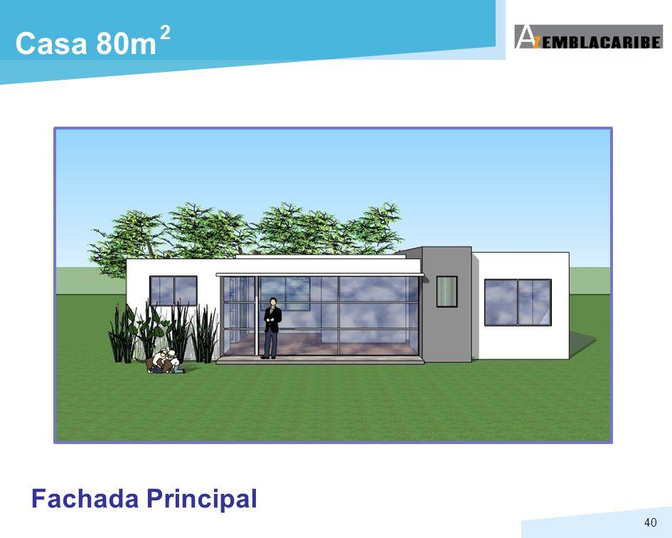 40 Fachada Principal Casa 80m 2