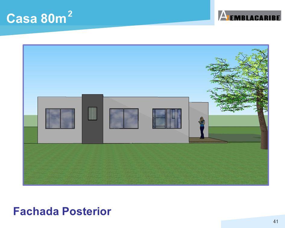 41 Fachada Posterior Casa 80m 2