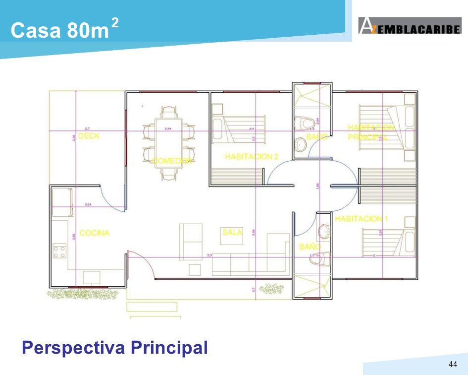 44 Perspectiva Principal Casa 80m 2