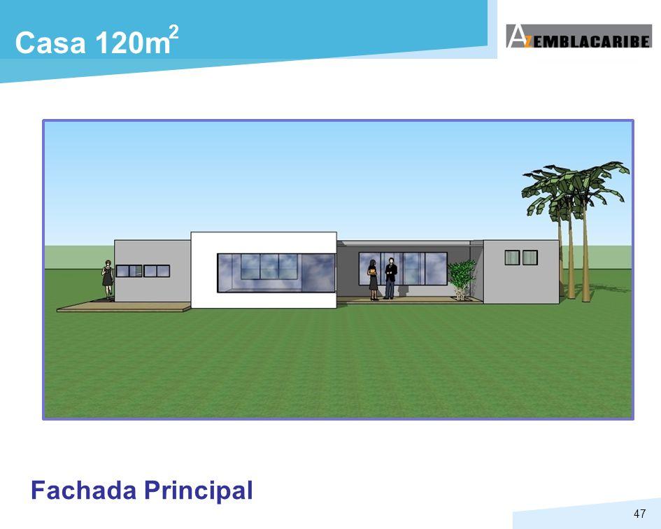 47 Casa 120m Fachada Principal 2