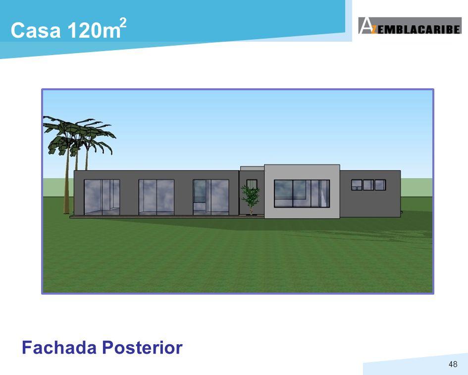 48 Casa 120m Fachada Posterior 2