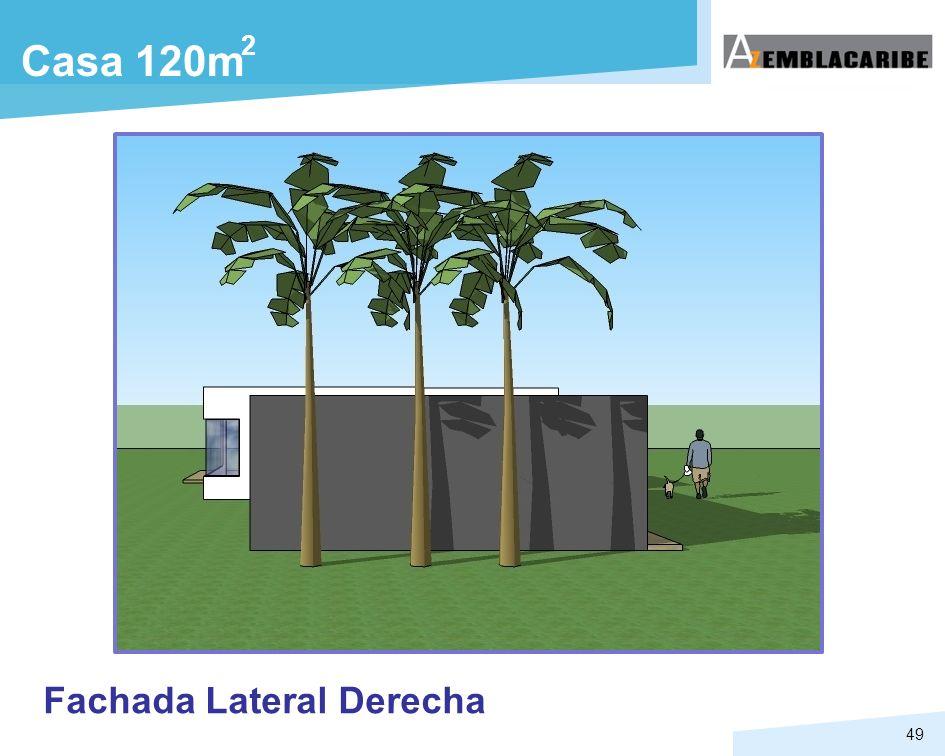 49 Casa 120m Fachada Lateral Derecha 2