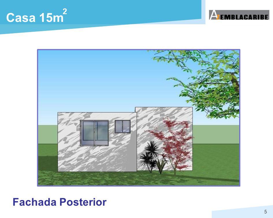 5 Casa 15m 2 Fachada Posterior
