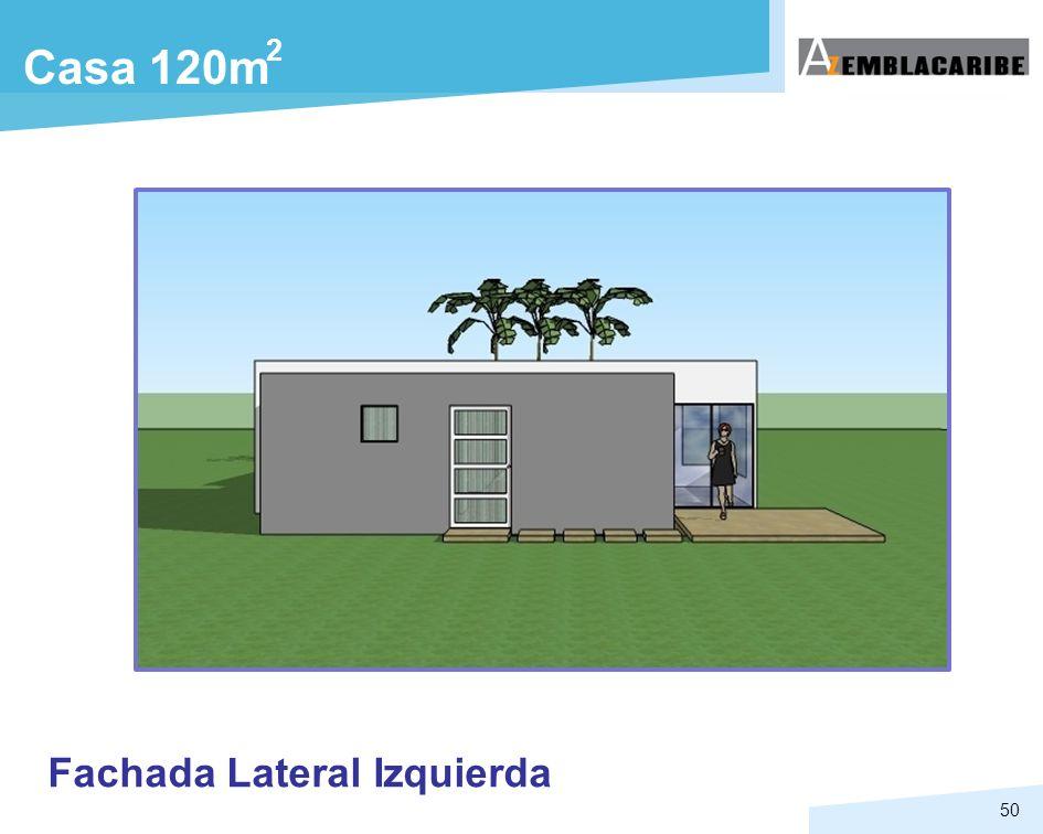 50 Casa 120m Fachada Lateral Izquierda 2