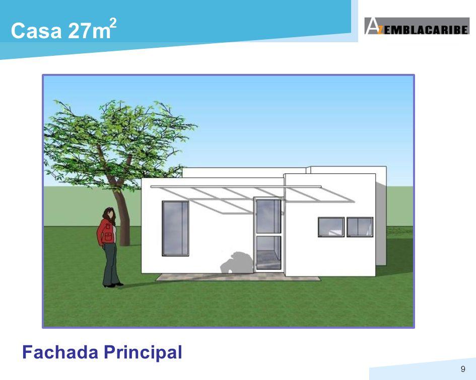 9 Casa 27m 2 Fachada Principal