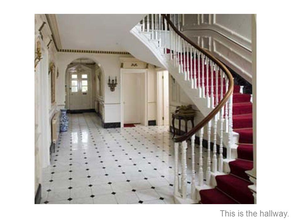 Esta es el pasillo.
