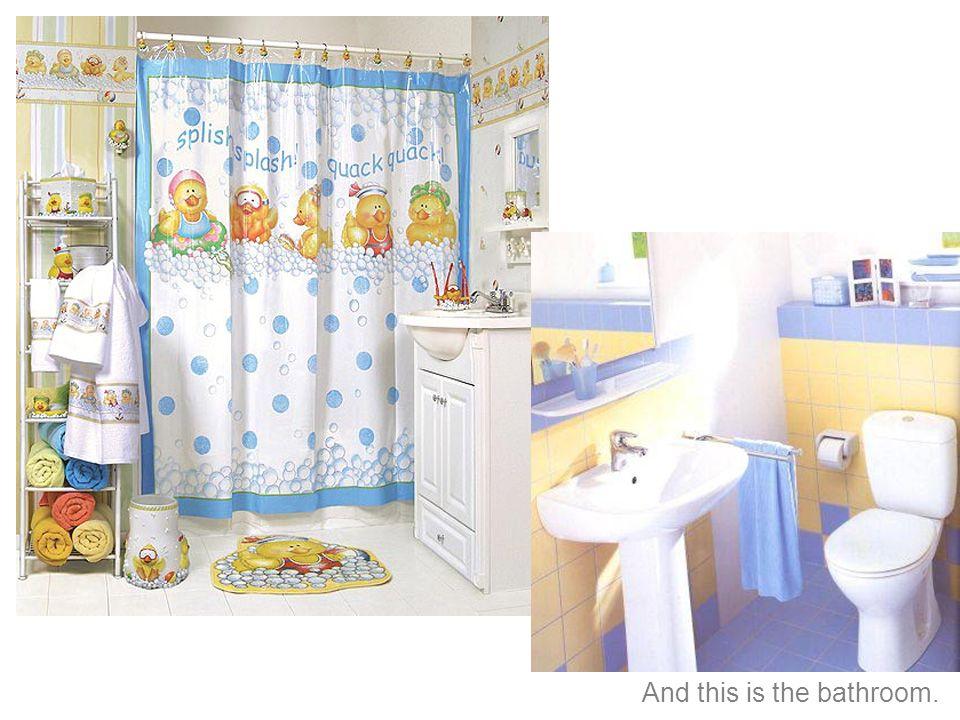 y este es el baño.