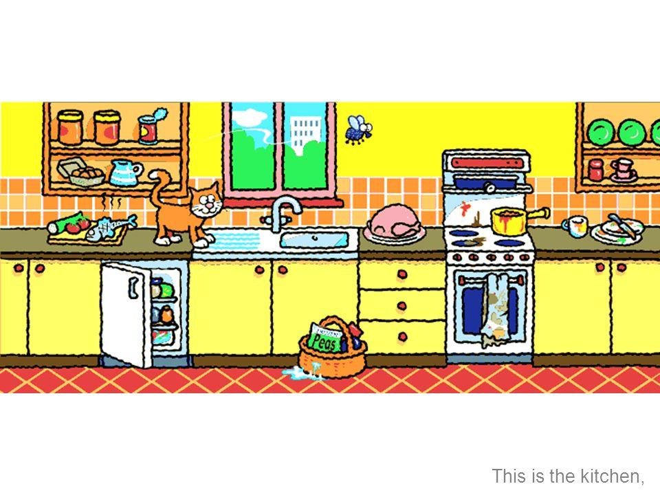 Esta es la cocina,