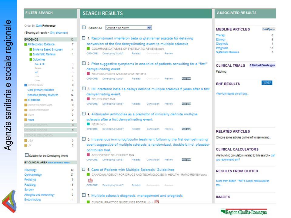 Agenzia sanitaria e sociale regionale