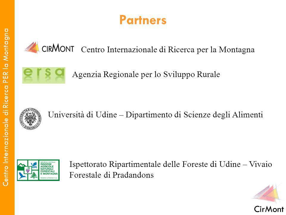 Centro Internazionale di Ricerca PER la Montagna CirMont Centro Internazionale di Ricerca per la Montagna Agenzia Regionale per lo Sviluppo Rurale Uni