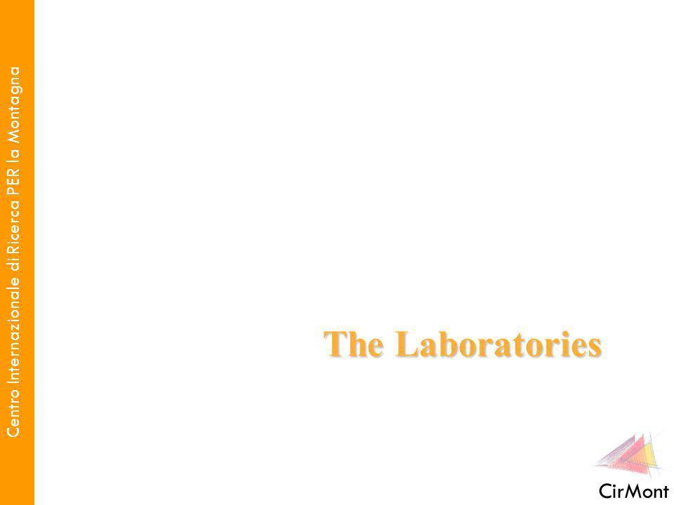 Centro Internazionale di Ricerca PER la Montagna CirMont The Laboratories