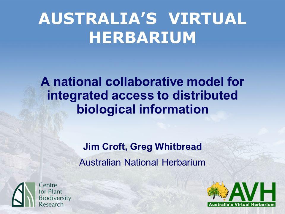 A Herbarium Database Structure