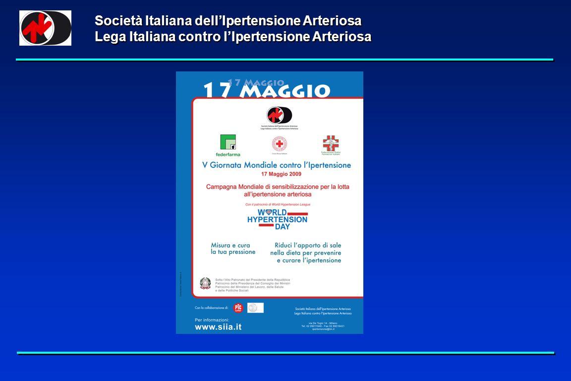 Società Italiana dellIpertensione Arteriosa Lega Italiana contro lIpertensione Arteriosa