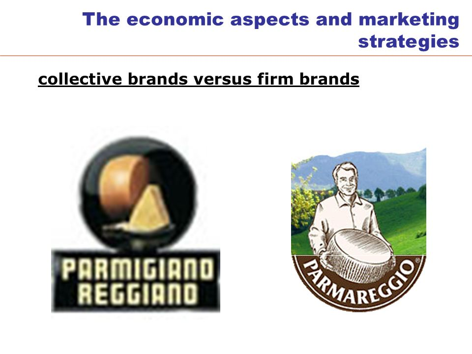 collective brands versus firm brands The economic aspects and marketing strategies