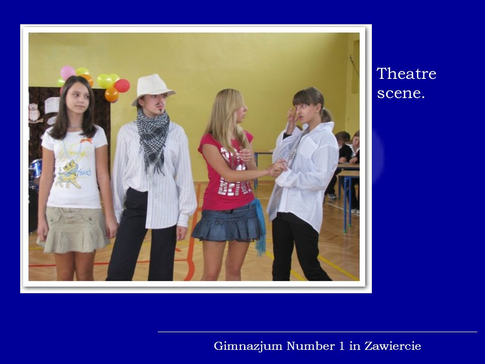 Gimnazjum Number 1 in Zawiercie Plastic contest.