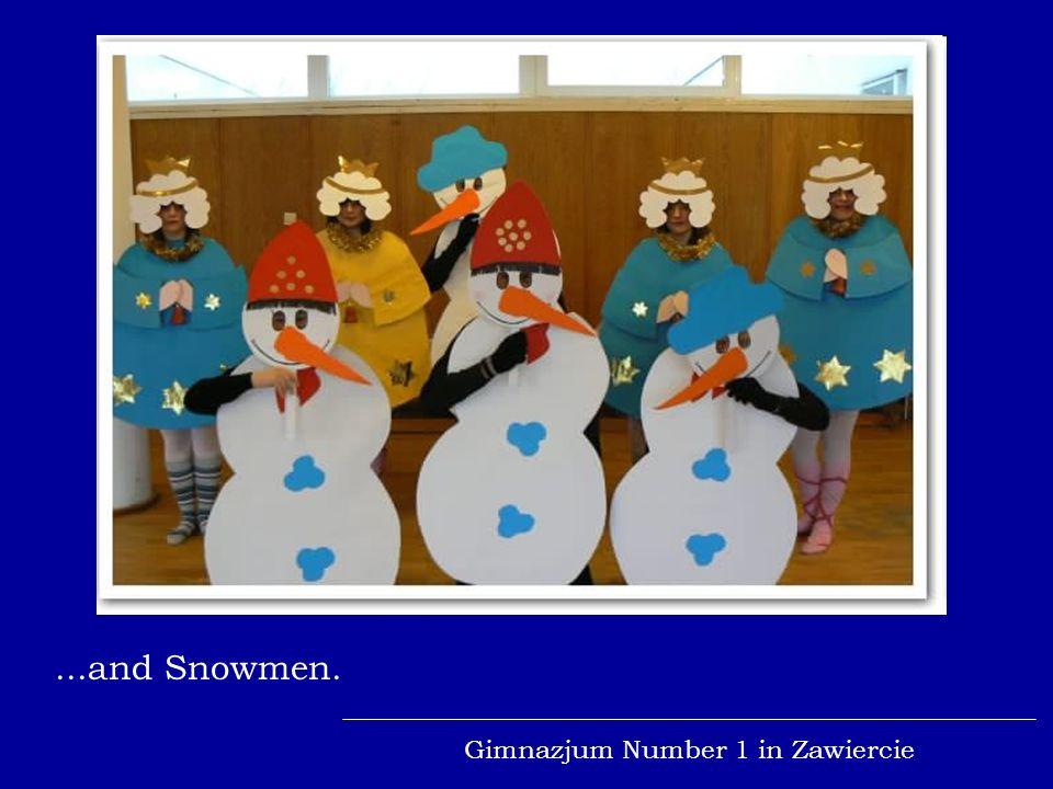 Gimnazjum Number 1 in Zawiercie...penguins on the rollerblades...