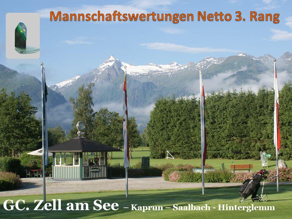 GC. Zell am See – Kaprun – Saalbach - Hinterglemm988 Pkt.